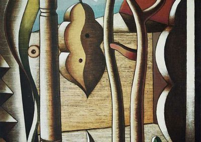 2007-Paisatge amb fulla-100x73-Acrilic-fusta